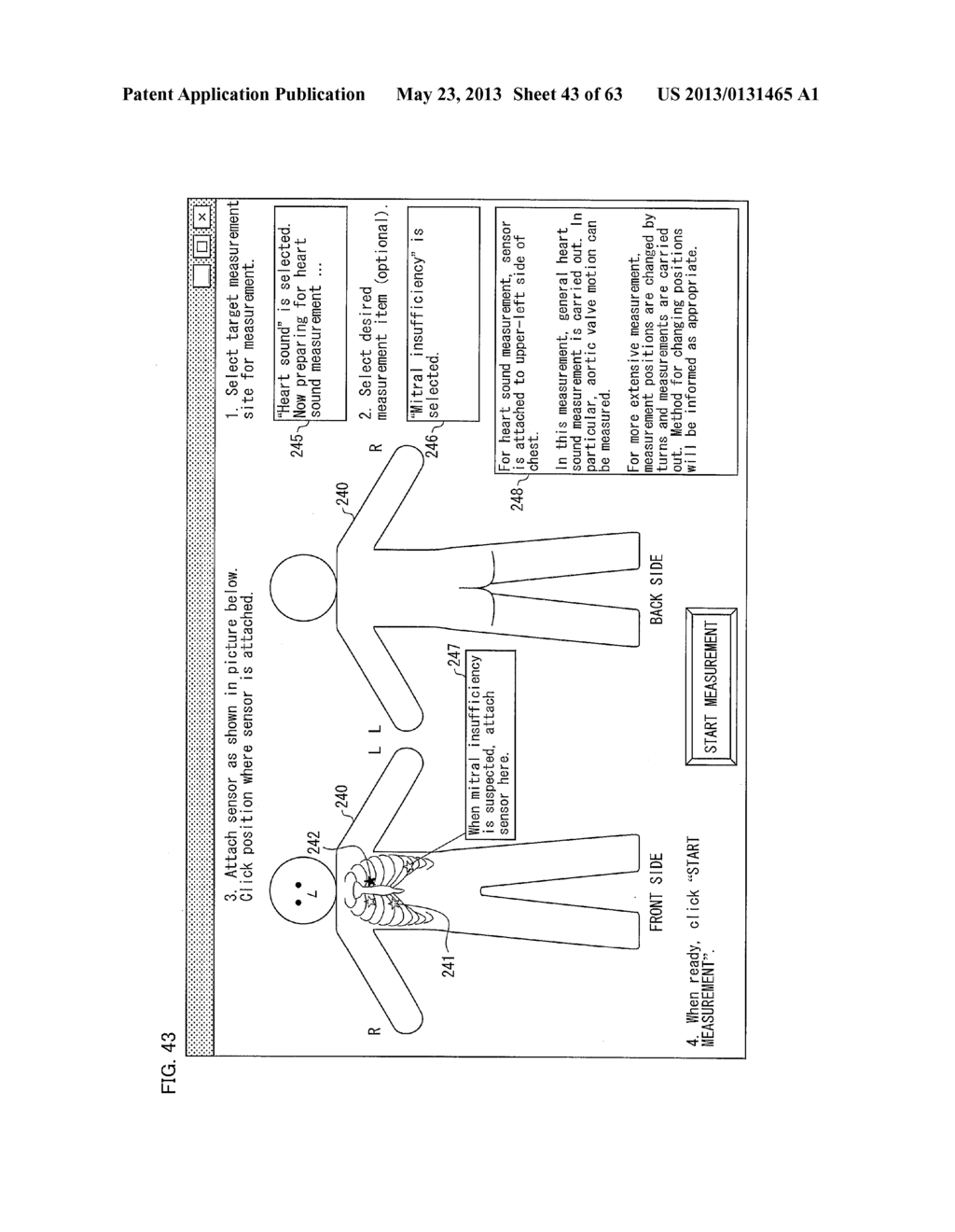 BIOMEASUREMENT DEVICE, BIOMEASUREMENT METHOD, CONTROL PROGRAM FOR A     BIOMEASUREMENT DEVICE, AND RECORDING MEDIUM WITH SAID CONTROL PROGRAM     RECORDED THEREON - diagram, schematic, and image 44