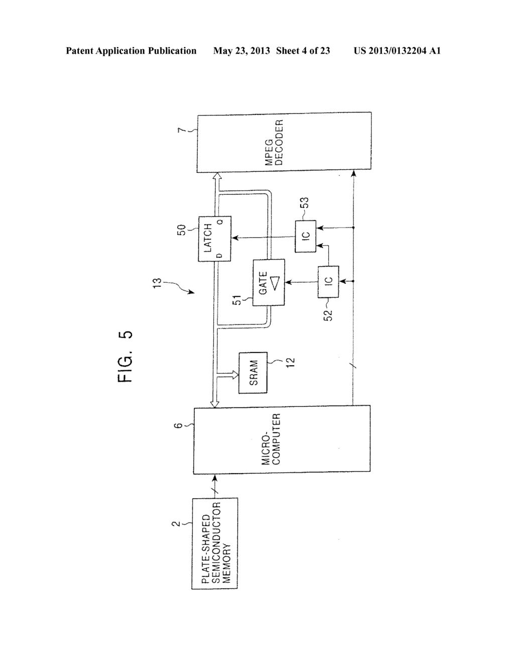 INFORMATION PLAYBACK APPARATUS AND ELECTRONIC POP ADVERTISING APPARATUS - diagram, schematic, and image 05