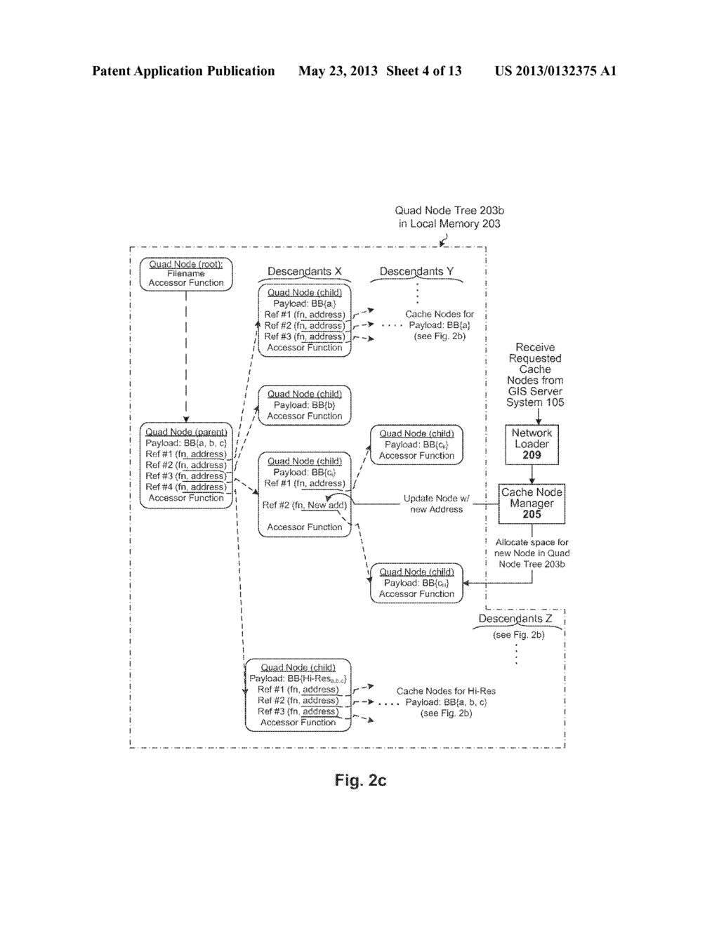 Dynamic View-Based Data Layer in a Geographic Information System - diagram, schematic, and image 05