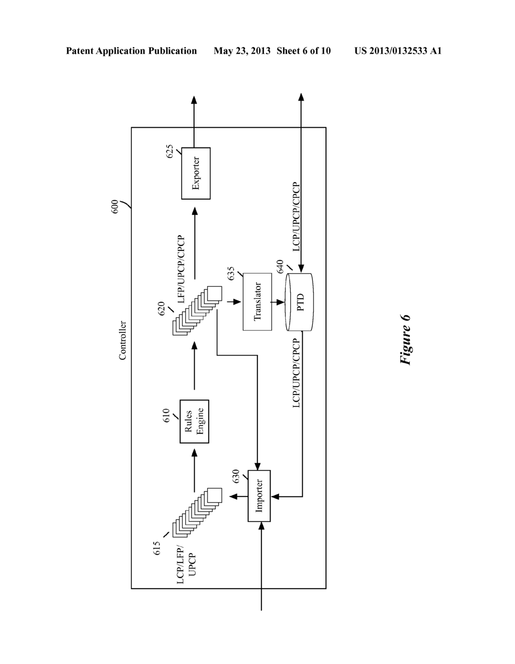 CONTROL PLANE INTERFACE FOR LOGICAL MIDDLEBOX SERVICES - diagram, schematic, and image 07