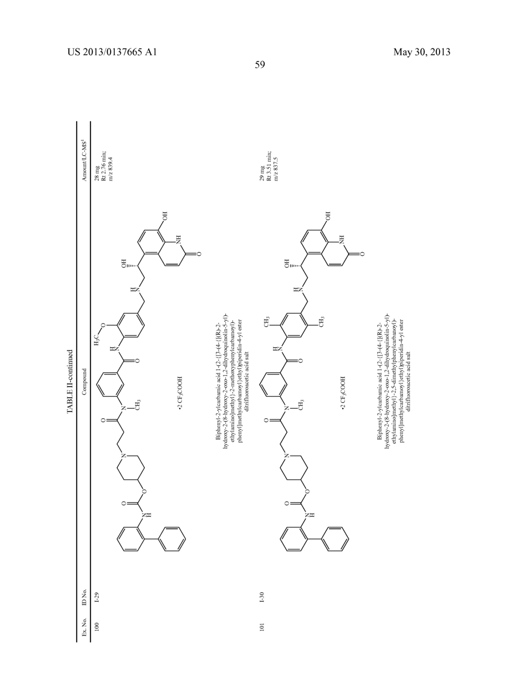 DIAMIDE COMPOUNDS HAVING MUSCARINIC RECEPTOR ANTAGONIST AND BETA2     ADRENERGIC RECEPTOR AGONIST ACTIVITY - diagram, schematic, and image 60