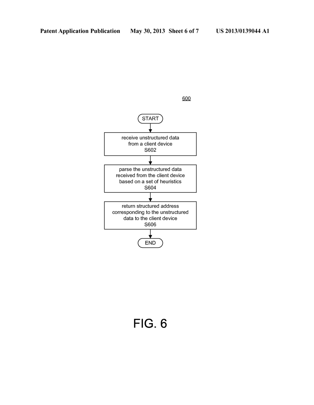 SYSTEM AND METHOD FOR OBTAINING A STRUCTURED ADDRESS BY GEOCODING     UNSTRUCTURED ADDRESS INFORMATION - diagram, schematic, and image 07