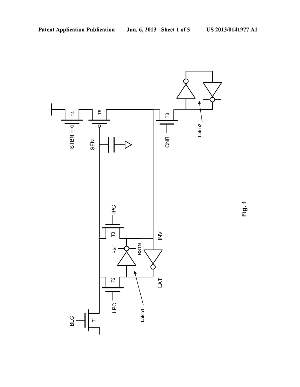 Page Buffer Circuit - diagram, schematic, and image 02
