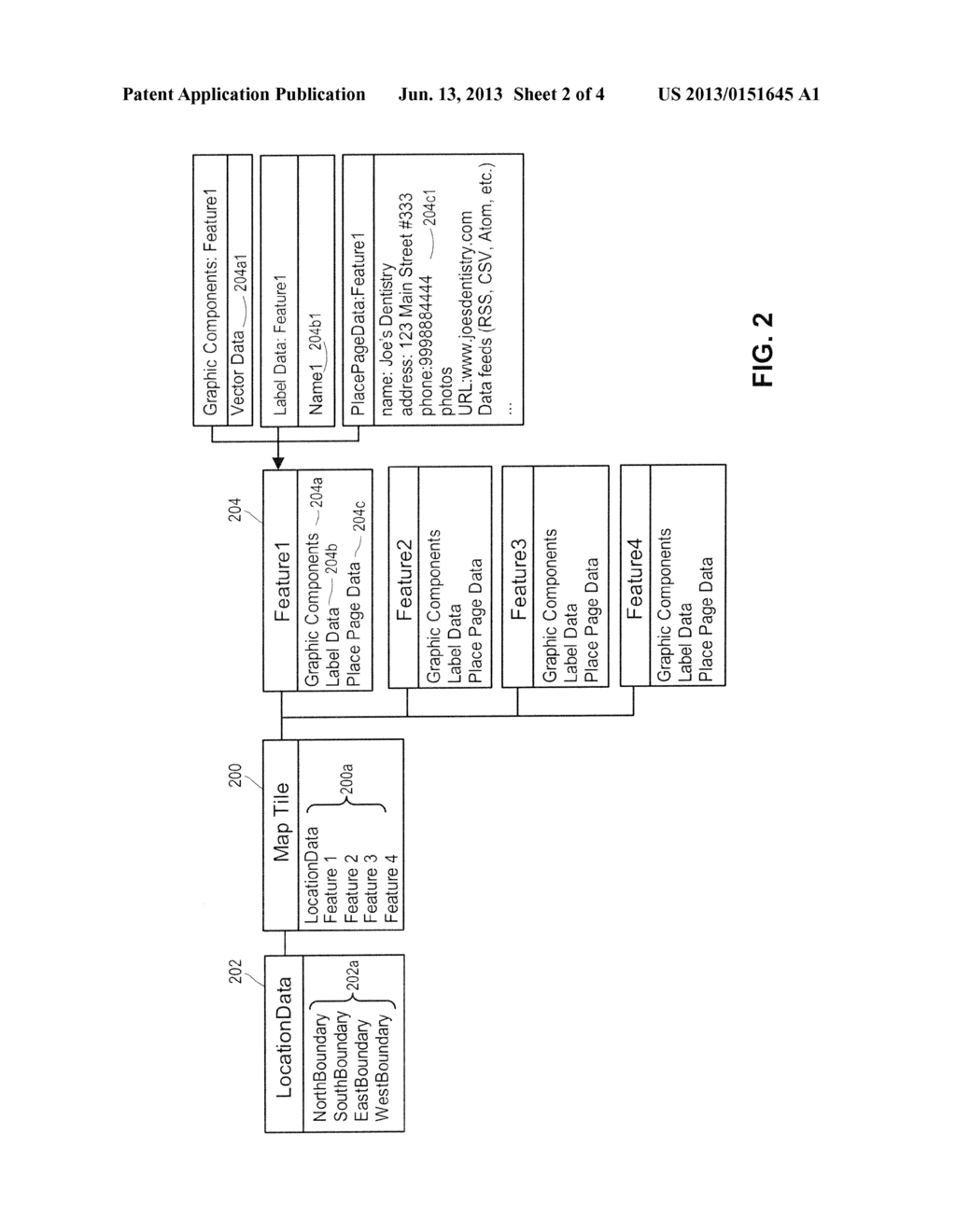 METHOD AND APPARATUS FOR PRE-FETCHING PLACE PAGE DATA FOR SUBSEQUENT     DISPLAY ON A MOBILE COMPUTING DEVICE - diagram, schematic, and image 03