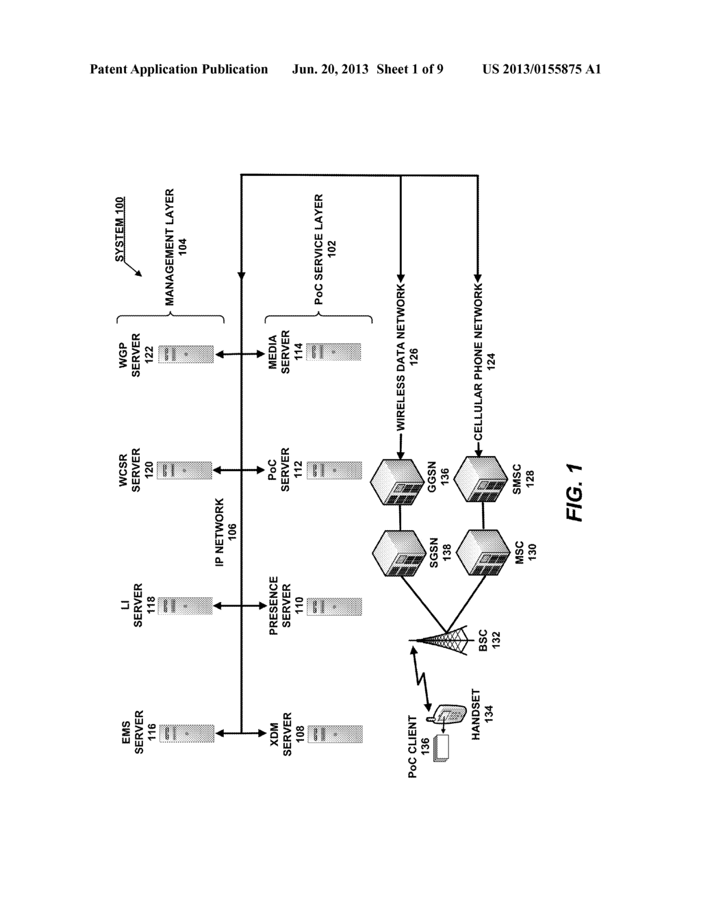 push to talk over cellular poc diagram schematic and image 02 rh patentsencyclopedia com Series Circuit Diagram Circuit Symbols