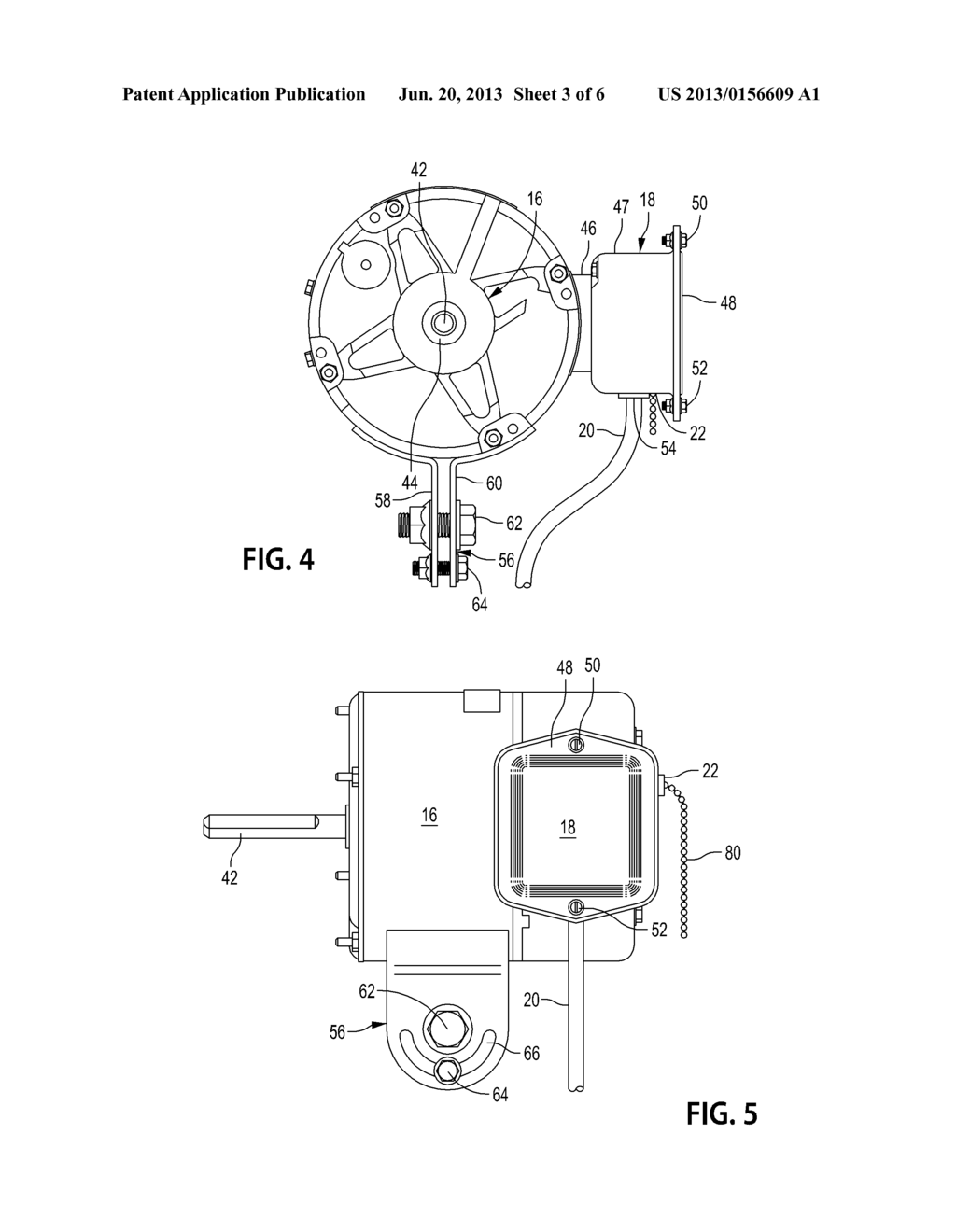 AIR CIRCULATOR POWERED BY AN ELECTRONICALLY COMMUTED MOTOR (ECM) AND     ASSOCIATED METHOD OF USE - diagram, schematic, and image 04