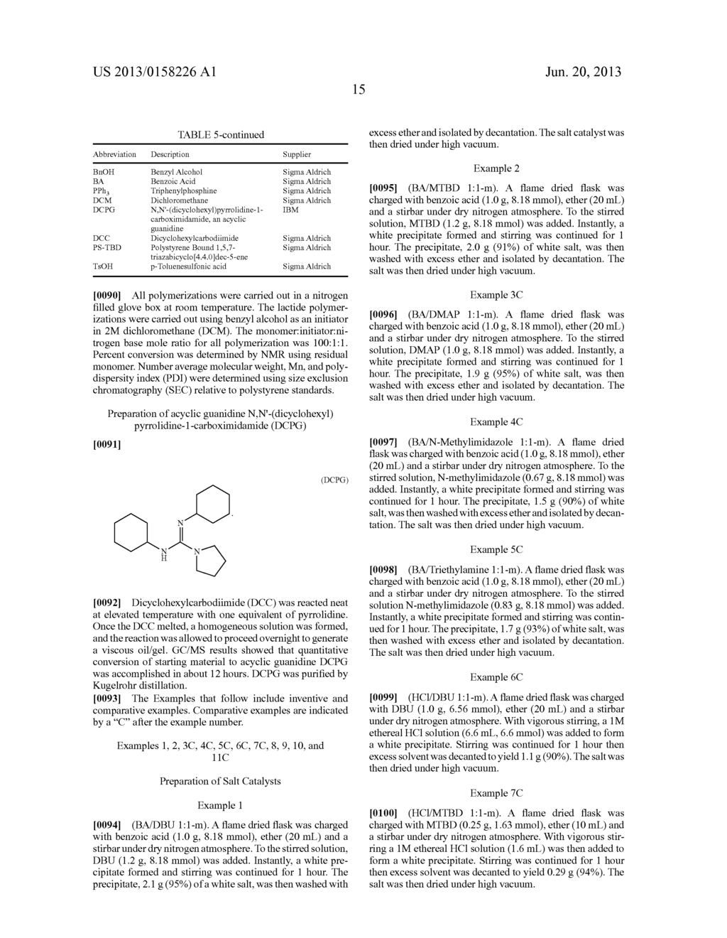 METHODS OF RING OPENING POLYMERIZATION AND CATALYSTS THEREFOR - diagram, schematic, and image 22