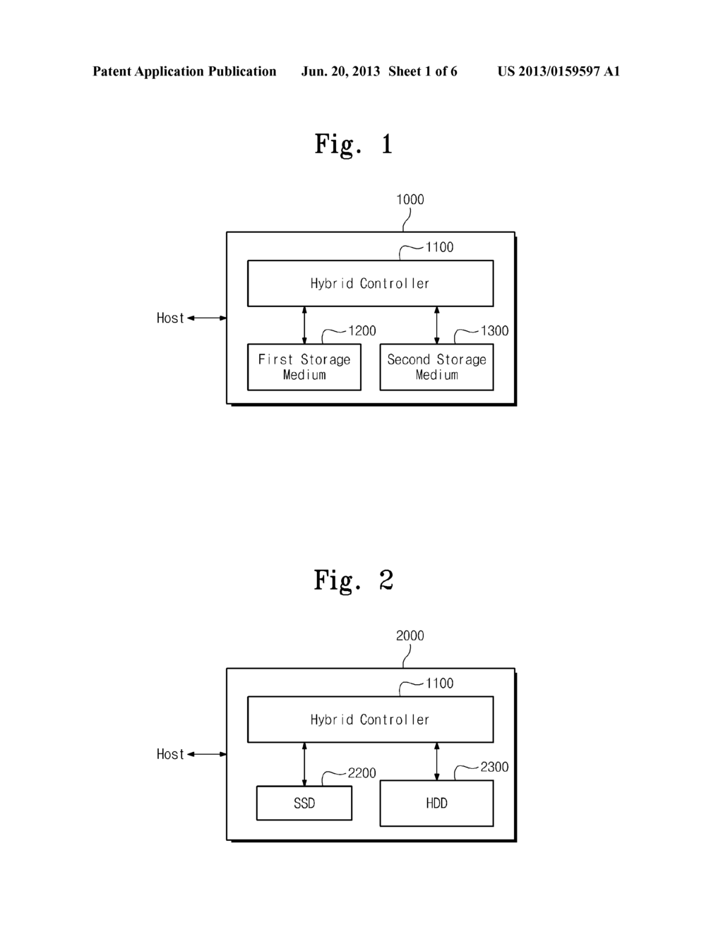 HYBRID STORAGE DEVICE AND METHOD OF OPERATING THE SAME - diagram, schematic, and image 02