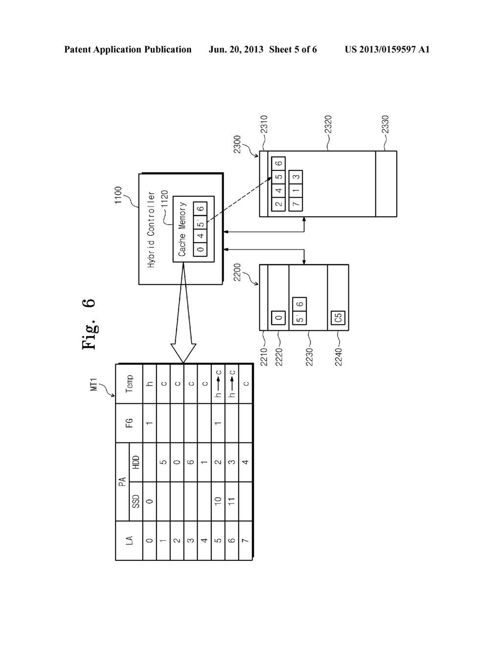 HYBRID STORAGE DEVICE AND METHOD OF OPERATING THE SAME - diagram, schematic, and image 06
