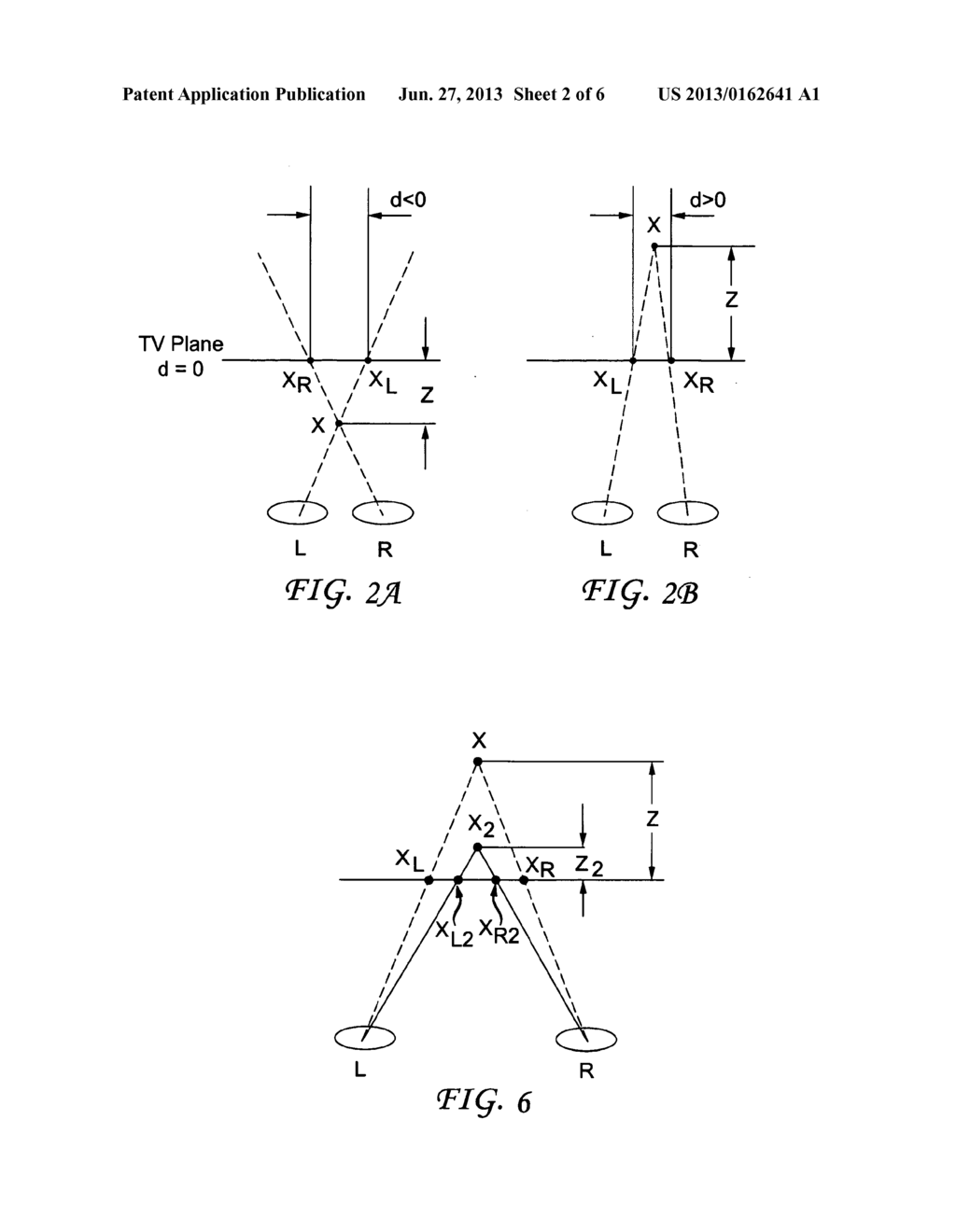 METHOD OF PRESENTING THREE-DIMENSIONAL CONTENT WITH DISPARITY ADJUSTMENTS - diagram, schematic, and image 03