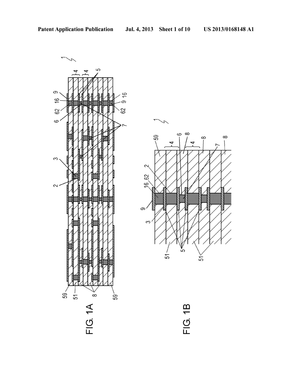 MULTILAYER PRINTED WIRING BOARD AND METHOD OF MANUFACTURING SAME - diagram, schematic, and image 02