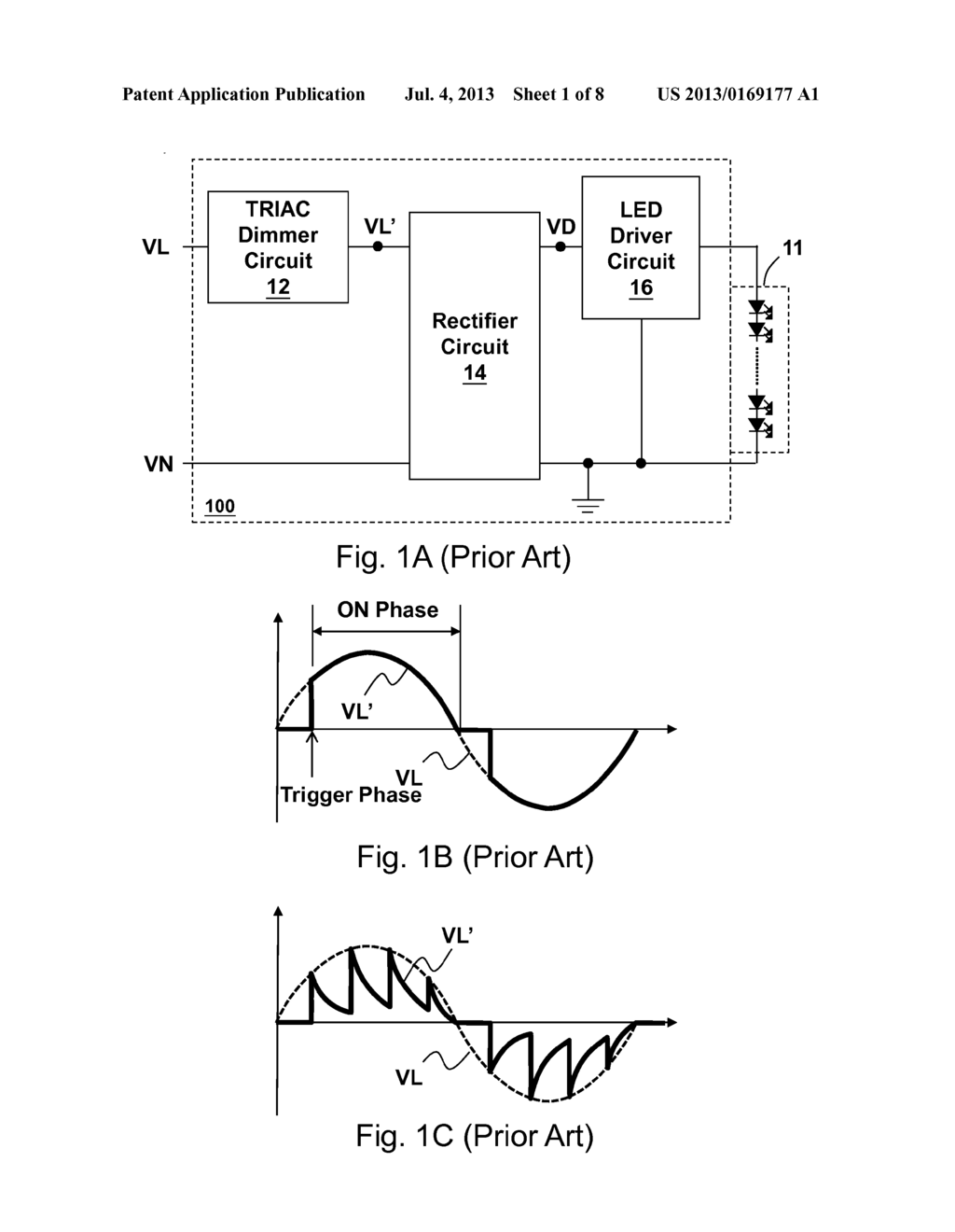 Active Bleeder Circuit Triggering Triac In All Phase And Light Dimmer Diagram Emitting Device Power Supply Control Method Using The