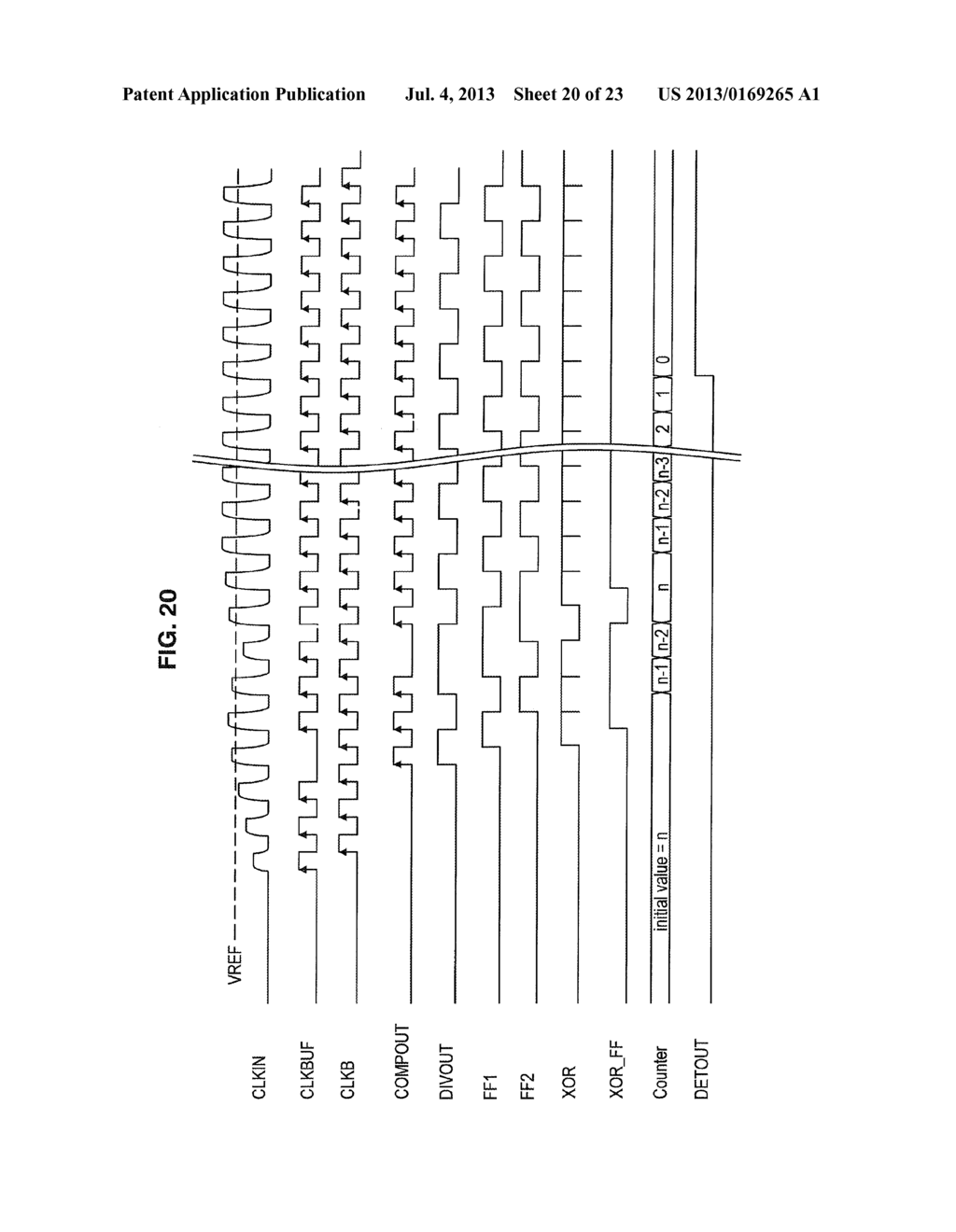 VOLTAGE AMPLITUDE DETECTION CIRCUIT, INFORMATION STORAGE DEVICE,     COMMUNICATION DEVICE, AND VOLTAGE AMPLITUDE DETECTION METHOD - diagram, schematic, and image 21