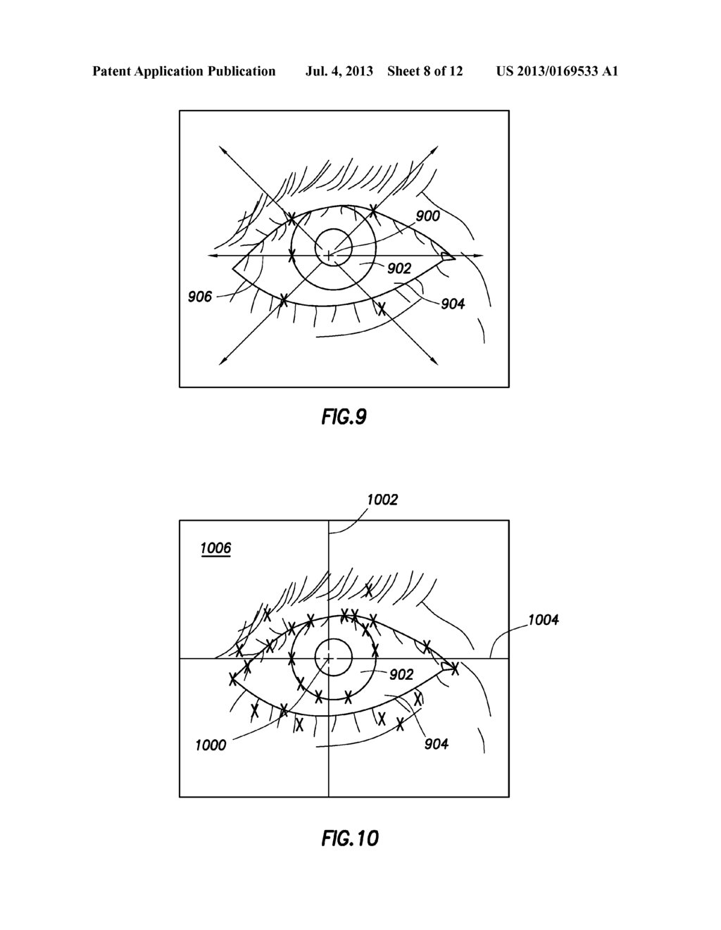 System and Method of Cursor Position Control Based on the Vestibulo-Ocular     Reflex - diagram, schematic, and image 09