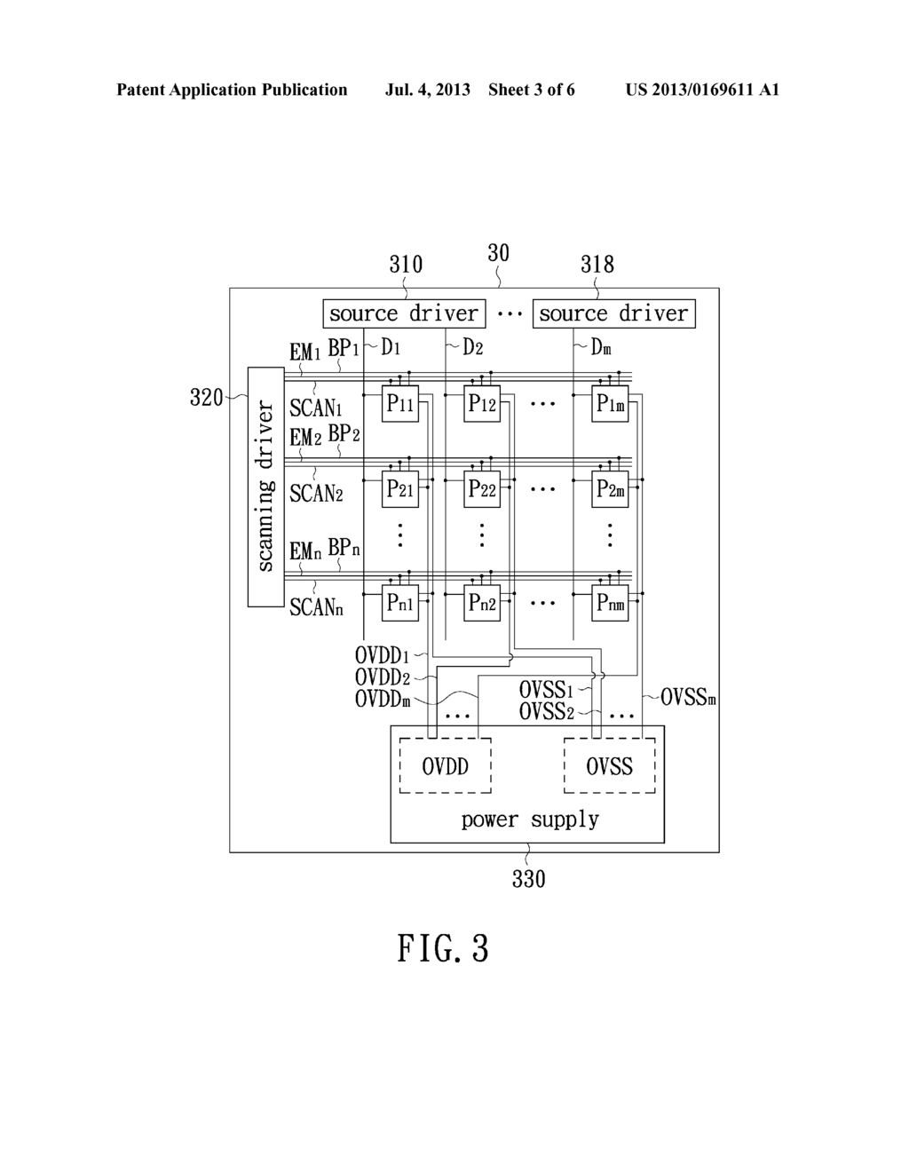 PIXEL STRUCTURE, DRIVING METHOD THEREOF AND SELF-EMITTING DISPLAY USING     THE SAME - diagram, schematic, and image 04