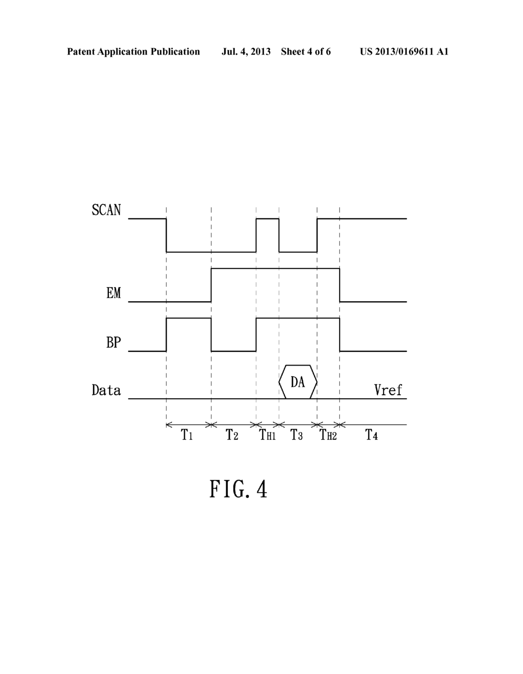 PIXEL STRUCTURE, DRIVING METHOD THEREOF AND SELF-EMITTING DISPLAY USING     THE SAME - diagram, schematic, and image 05