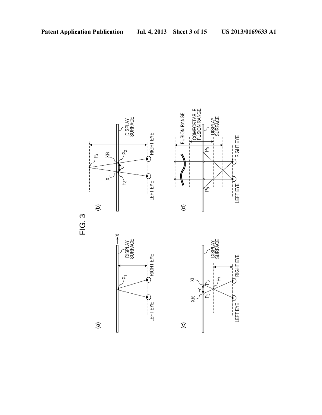 STEREOSCOPIC IMAGE GENERATION DEVICE, STEREOSCOPIC IMAGE DISPLAY DEVICE,     STEREOSCOPIC IMAGE ADJUSTMENT METHOD, PROGRAM FOR CAUSING COMPUTER TO     EXECUTE STEREOSCOPIC IMAGE ADJUSTMENT METHOD, AND  RECORDING MEDIUM ON     WHICH THE PROGRAM IS RECORDED - diagram, schematic, and image 04