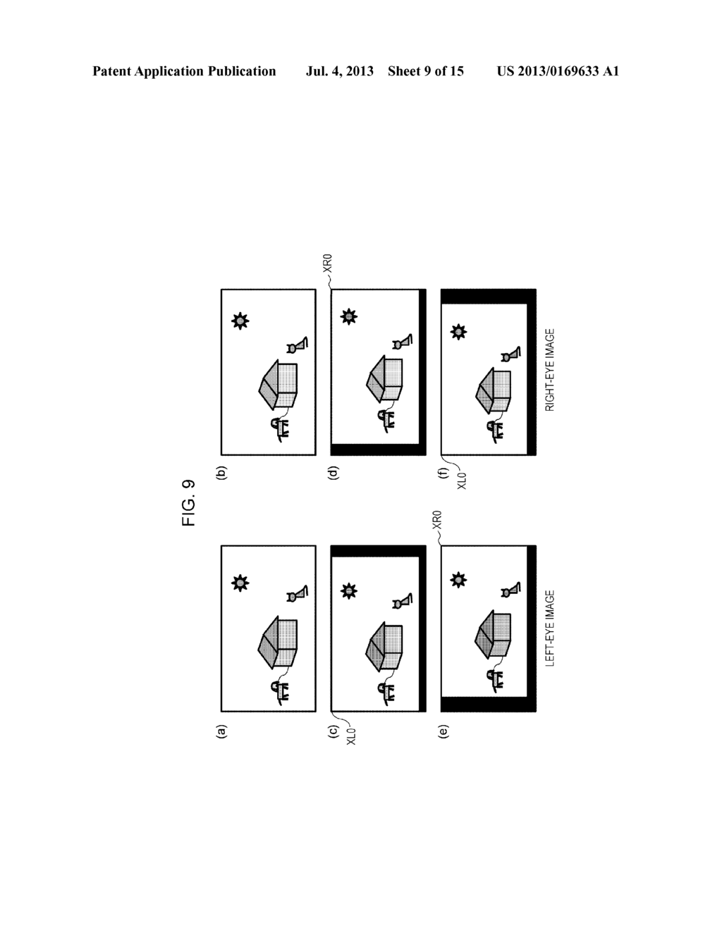 STEREOSCOPIC IMAGE GENERATION DEVICE, STEREOSCOPIC IMAGE DISPLAY DEVICE,     STEREOSCOPIC IMAGE ADJUSTMENT METHOD, PROGRAM FOR CAUSING COMPUTER TO     EXECUTE STEREOSCOPIC IMAGE ADJUSTMENT METHOD, AND  RECORDING MEDIUM ON     WHICH THE PROGRAM IS RECORDED - diagram, schematic, and image 10