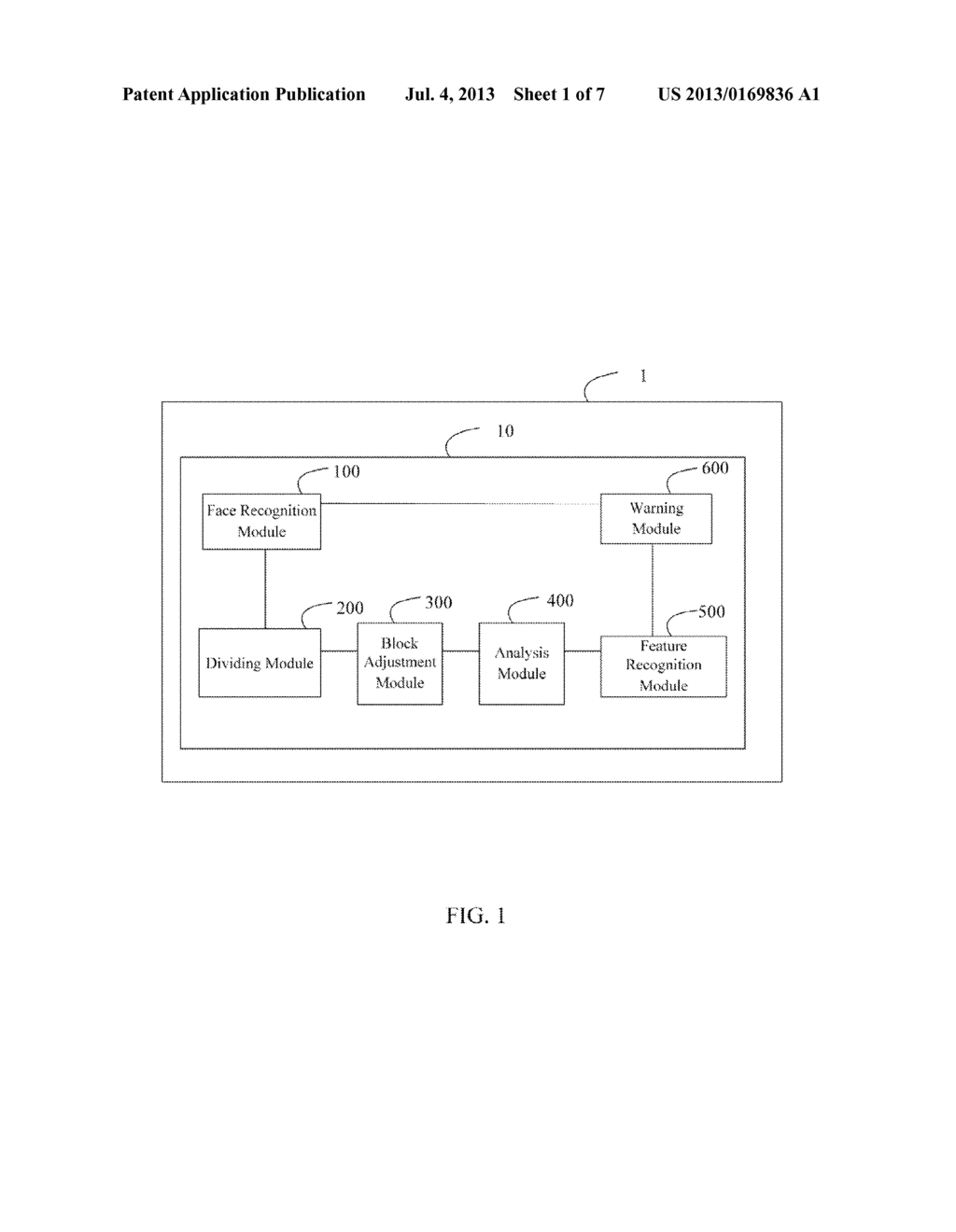 FACE RECOGNITION SYSTEM AND METHOD FOR TAKING GROUP PHOTO - diagram, schematic, and image 02