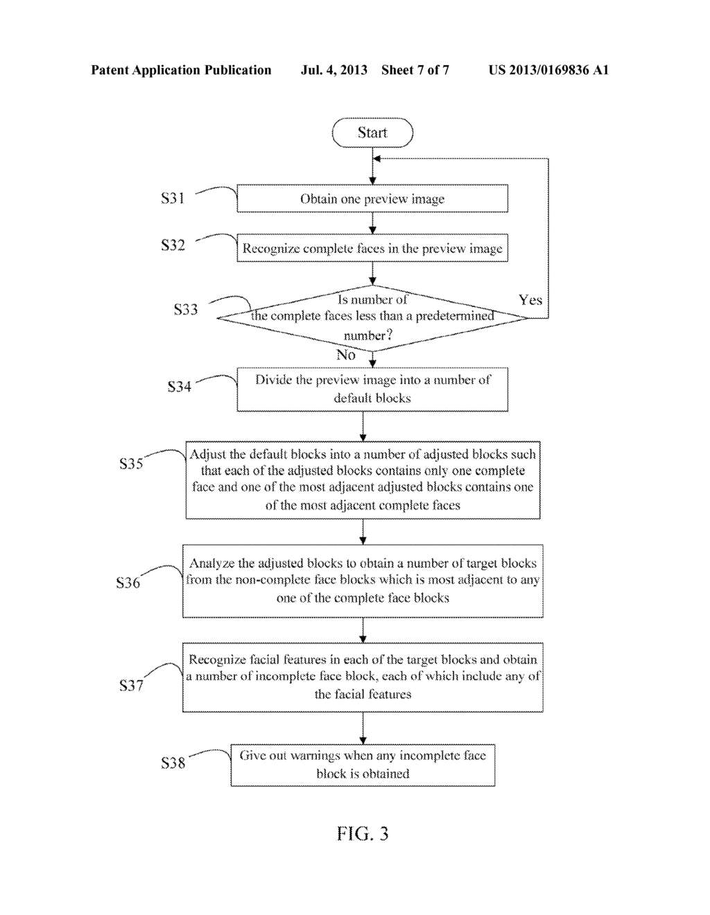 FACE RECOGNITION SYSTEM AND METHOD FOR TAKING GROUP PHOTO - diagram, schematic, and image 08