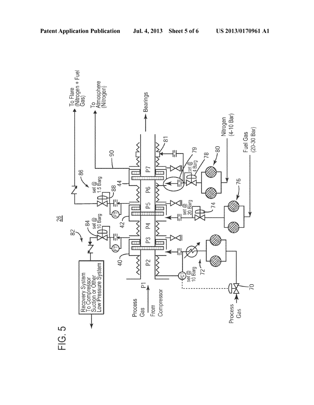 low emission dry gas seal system for compressors diagramlow emission dry gas seal system for compressors diagram, schematic, and image 06