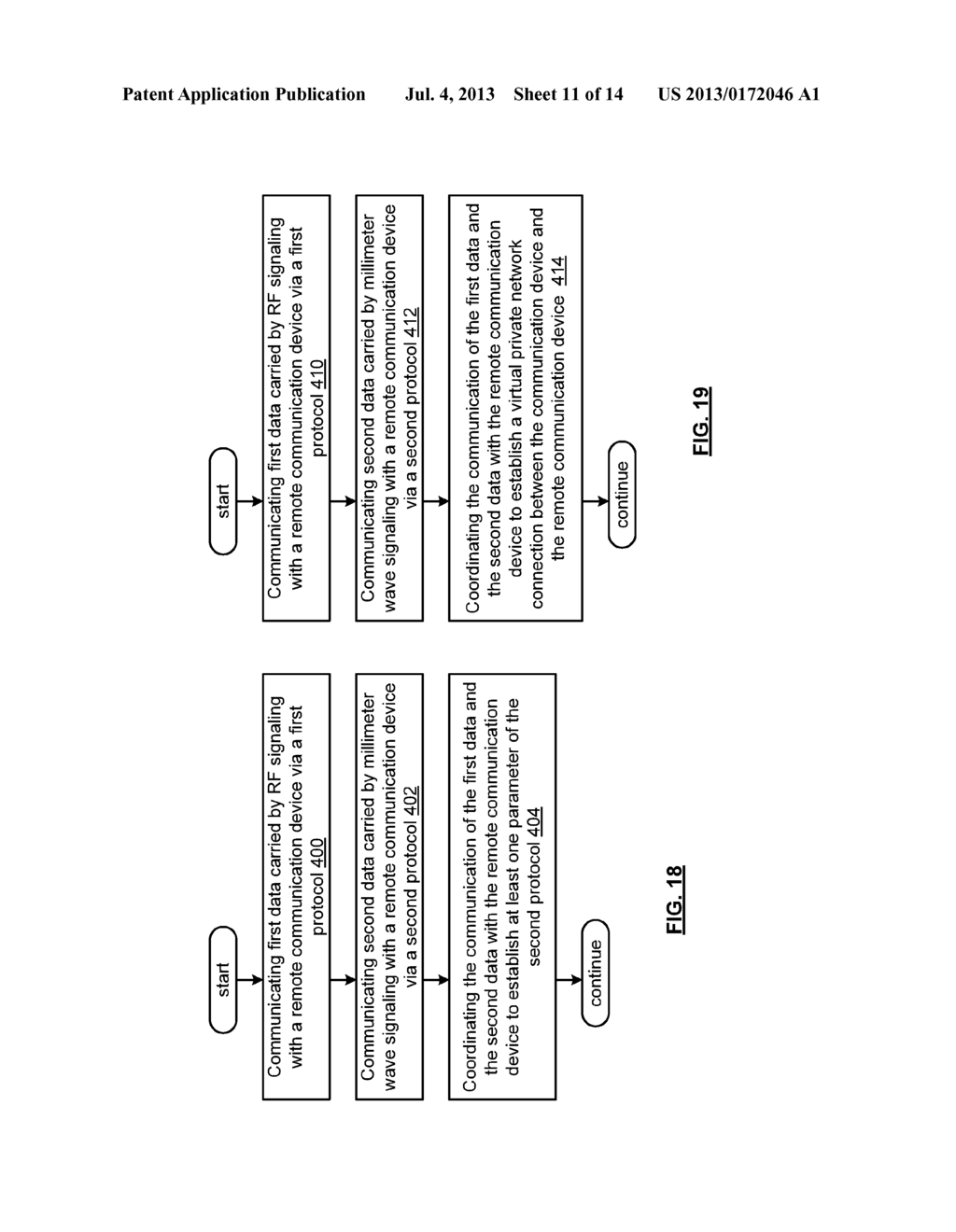 MULTIBAND COMMUNICATION DEVICE FOR USE WITH A MESH NETWORK AND METHODS FOR     USE THEREWITH - diagram, schematic, and image 12