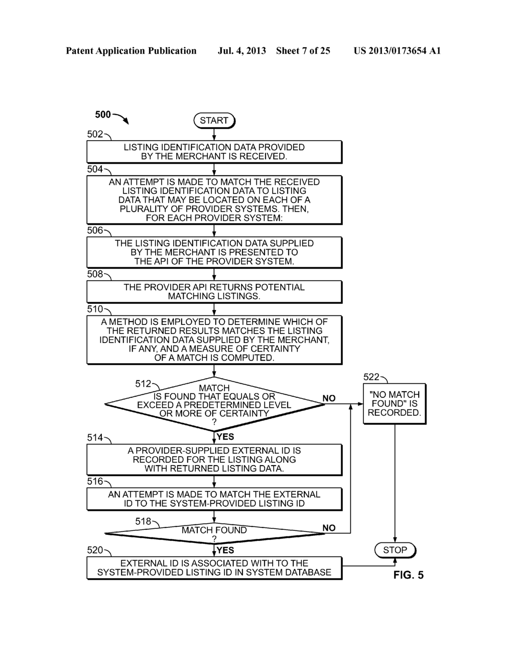 METHOD AND SYSTEM FOR PROVIDING ENHANCED BUSINESS LISTINGS TO MULTIPLE     SEARCH PROVIDERS FROM A SINGLE SOURCE - diagram, schematic, and image 08
