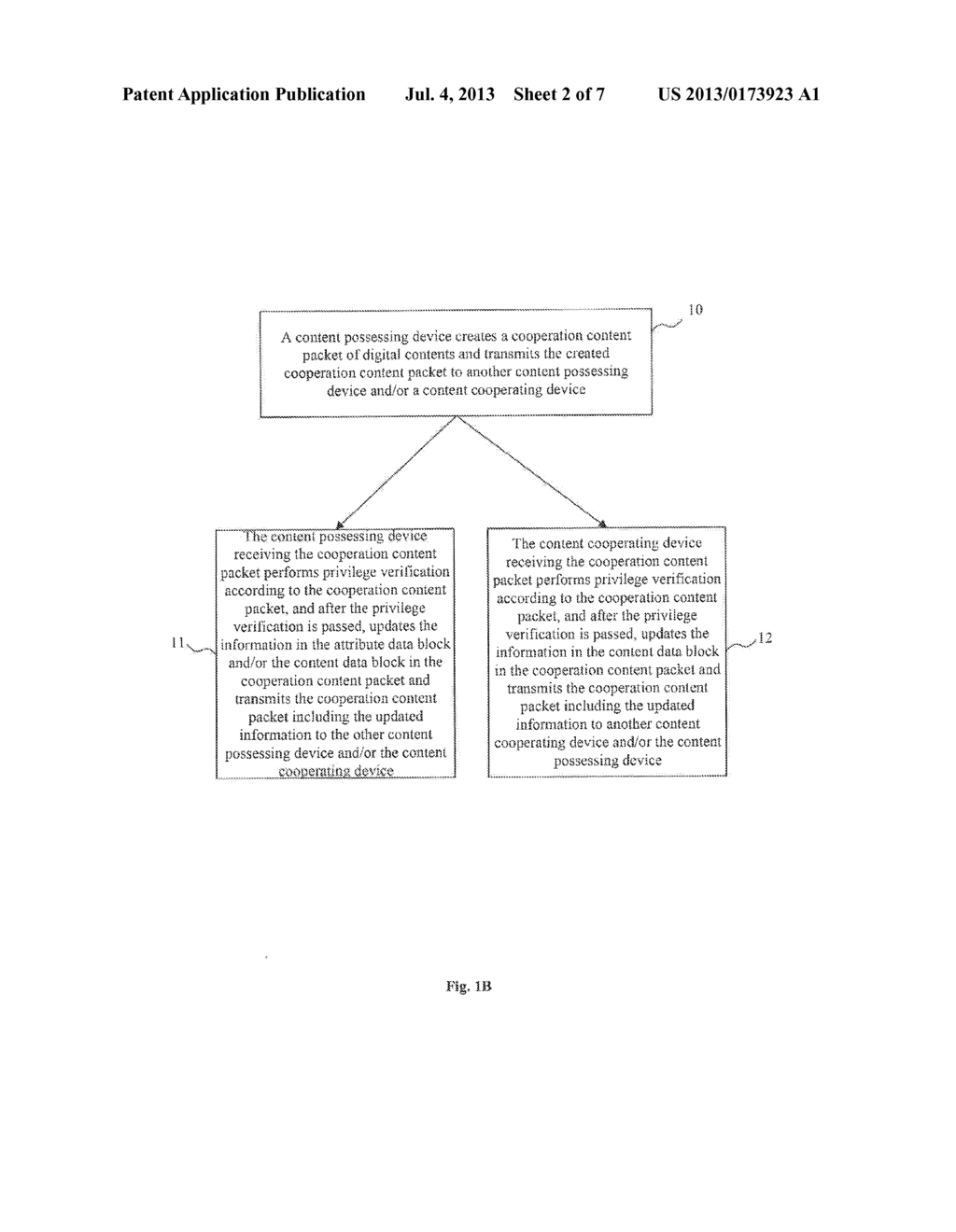 METHOD AND SYSTEM FOR DIGITAL CONTENT SECURITY COOPERATION - diagram, schematic, and image 03