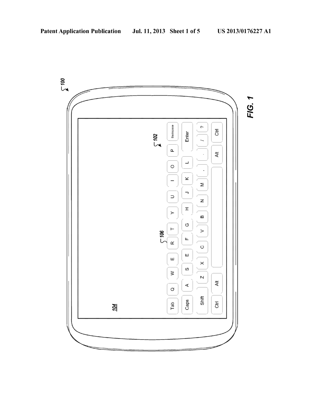 Intelligent Touchscreen Keyboard With Finger Differentiation - diagram, schematic, and image 02