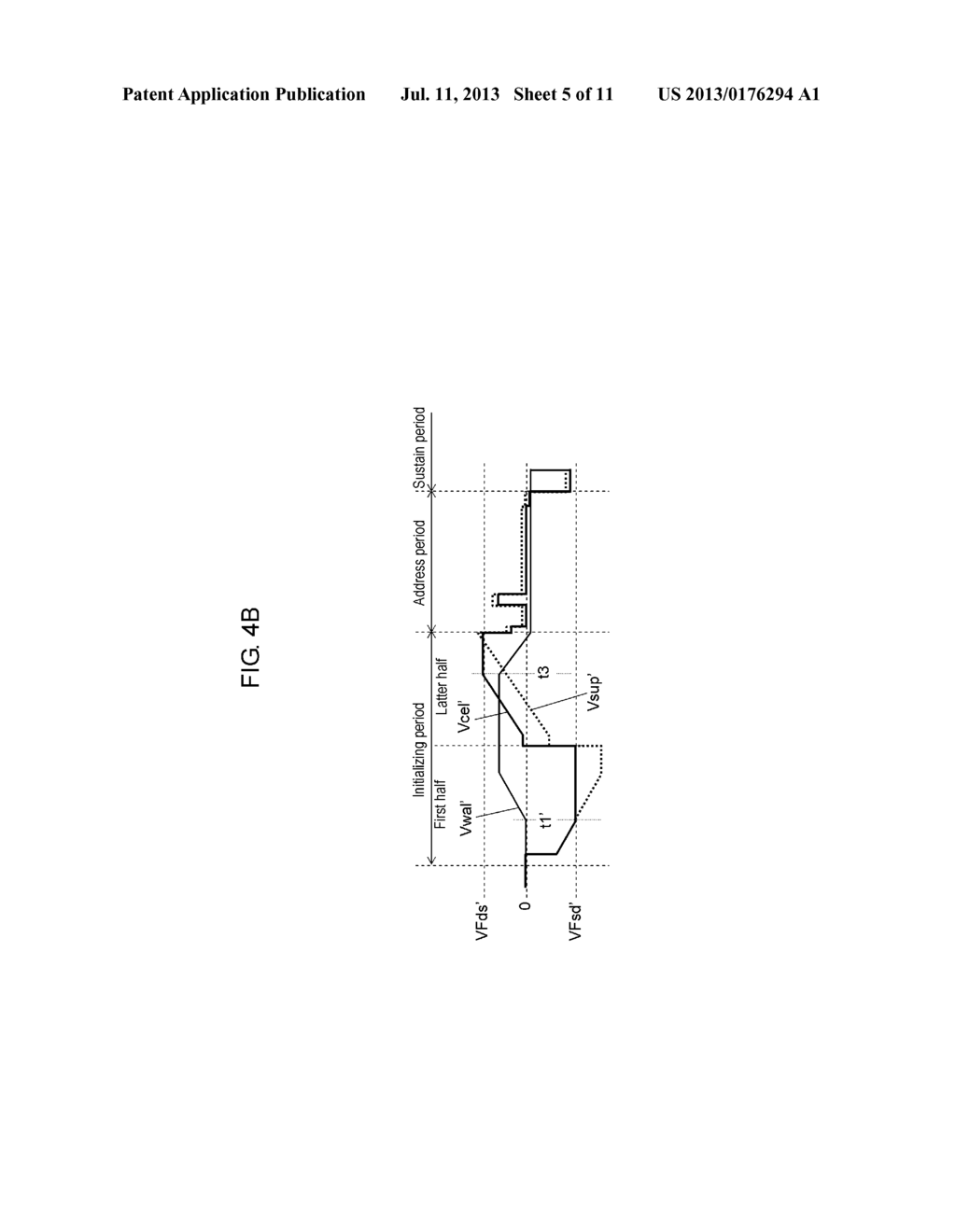 PLASMA DISPLAY PANEL DRIVE METHOD AND PLASMA DISPLAY DEVICE - diagram, schematic, and image 06