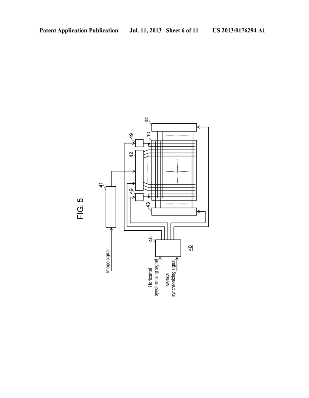 PLASMA DISPLAY PANEL DRIVE METHOD AND PLASMA DISPLAY DEVICE - diagram, schematic, and image 07