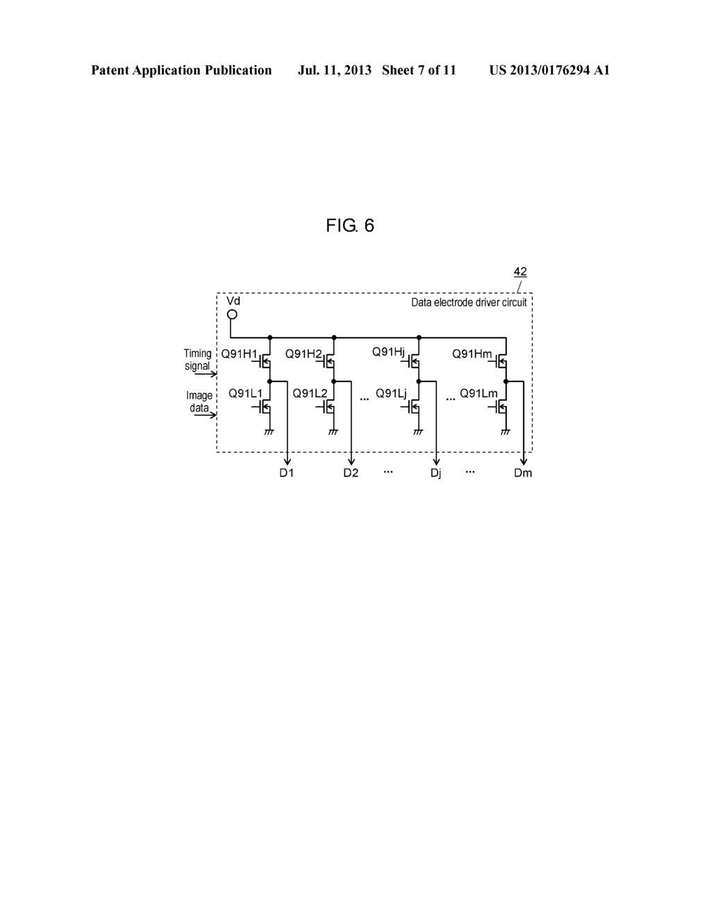 PLASMA DISPLAY PANEL DRIVE METHOD AND PLASMA DISPLAY DEVICE - diagram, schematic, and image 08