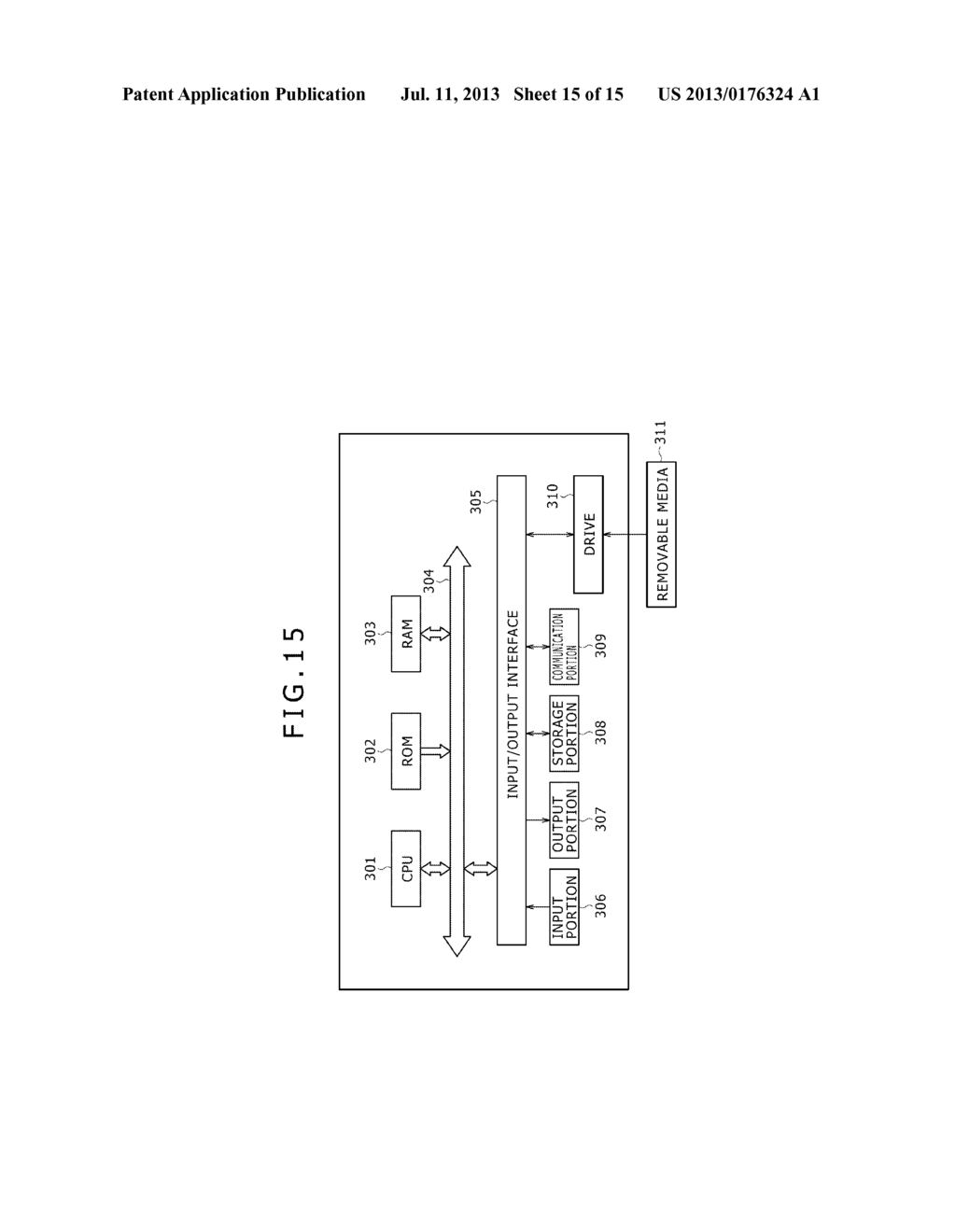 DISPLAY DEVICE, ELECTRONIC APPARATUS, DISPLAYING METHOD, AND PROGRAM - diagram, schematic, and image 16