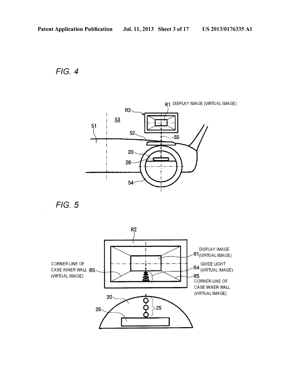 VEHICULAR DISPLAY DEVICE AND VEHICULAR DISPLAY SYSTEM - diagram, schematic, and image 04