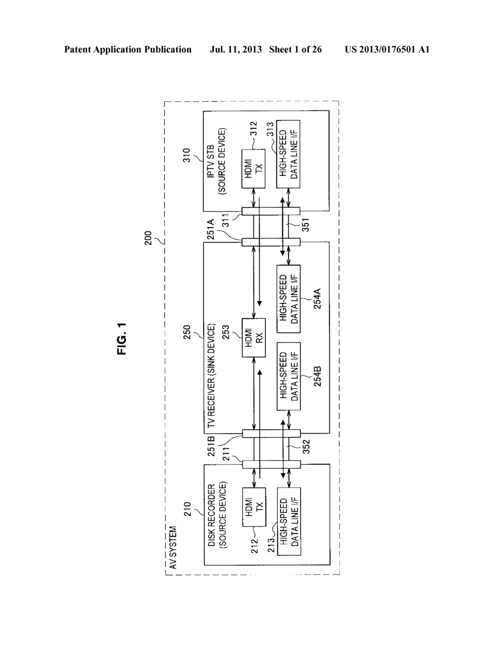 DISPLAY APPARATUS, VIDEO SIGNAL TRANSMISSION METHOD FOR DISPLAY APPARATUS,     TRANSMITTING APPARATUS, AND TRANSMISSION METHOD OF VIDEO SIGNAL - diagram, schematic, and image 02
