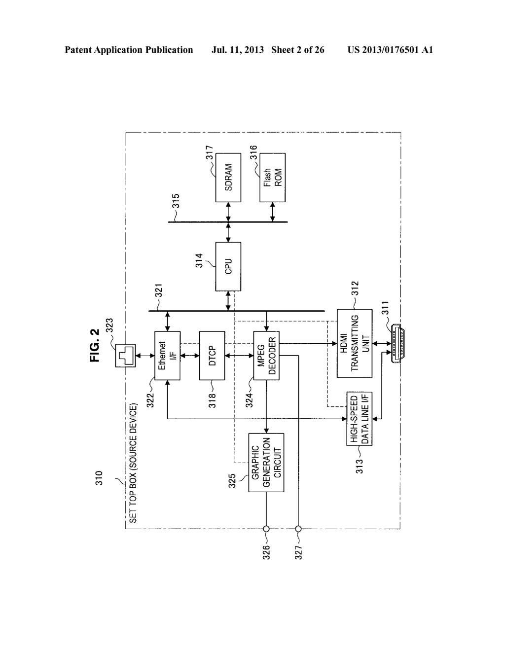 DISPLAY APPARATUS, VIDEO SIGNAL TRANSMISSION METHOD FOR DISPLAY APPARATUS,     TRANSMITTING APPARATUS, AND TRANSMISSION METHOD OF VIDEO SIGNAL - diagram, schematic, and image 03