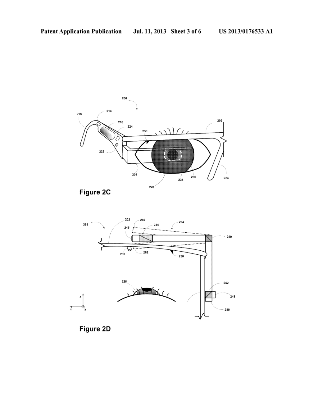 Structured Light for Eye-Tracking - diagram, schematic, and image 04
