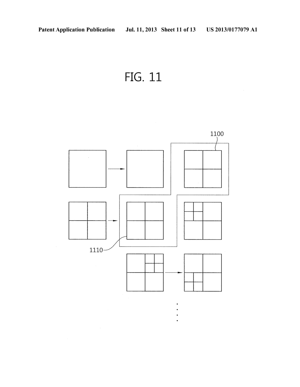 METHOD FOR PARTITIONING BLOCK AND DECODING DEVICE - diagram, schematic, and image 12