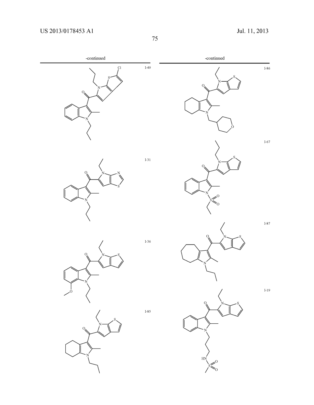 Cannabinoid Agonists - diagram, schematic, and image 80