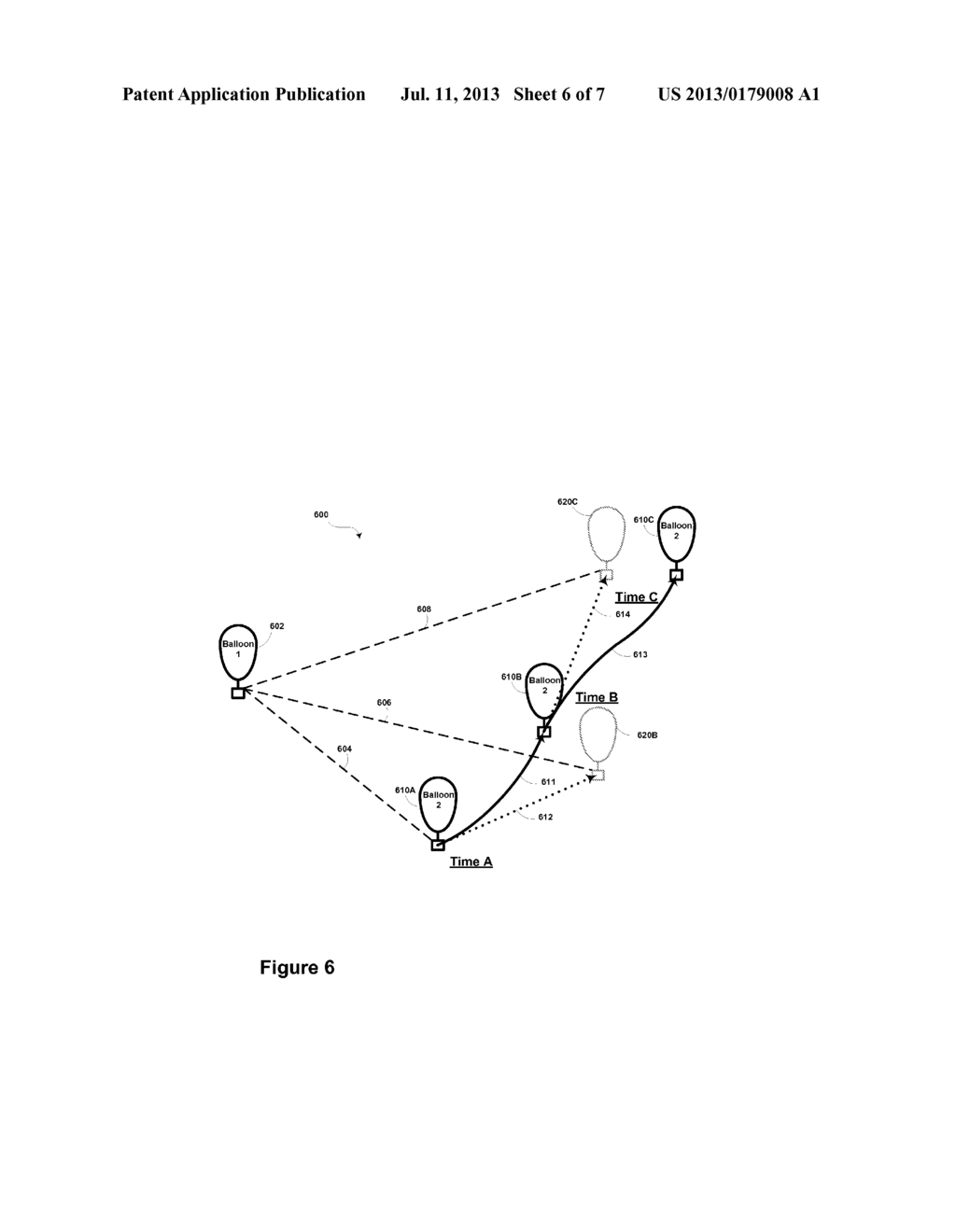USING PREDICTED MOVEMENT TO MAINTAIN OPTICAL-COMMUNICATION LOCK WITH     NEARBY BALLOON - diagram, schematic, and image 07
