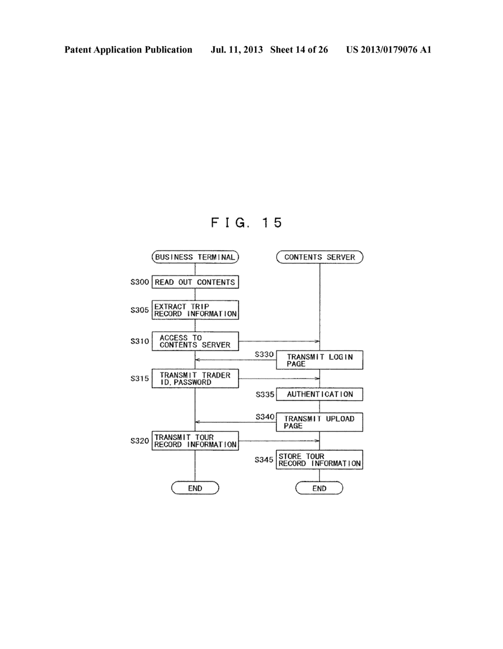 ELECTRONIC GUIDE SYSTEM, CONTENTS SERVER FOR ELECTRONIC GUIDE SYSTEM,     PORTABLE ELECTRONIC GUIDE DEVICE, AND INFORMATION PROCESSING METHOD FOR     ELECTRONIC GUIDE SYSTEM - diagram, schematic, and image 15