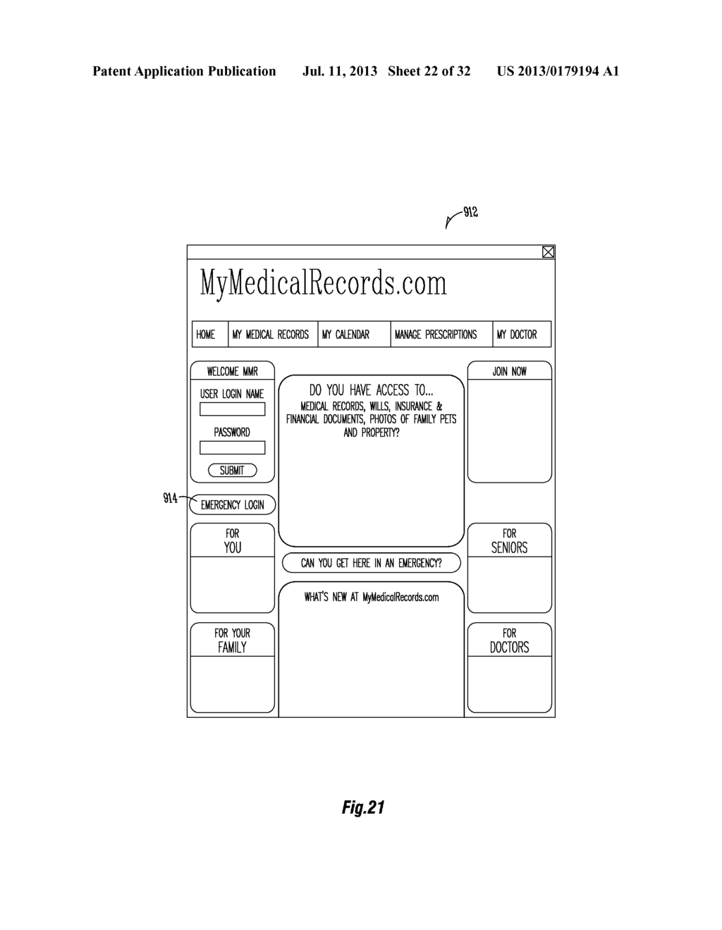 PREPAID CARD FOR SERVICES RELATED TO PERSONAL HEALTH RECORDS - diagram, schematic, and image 23