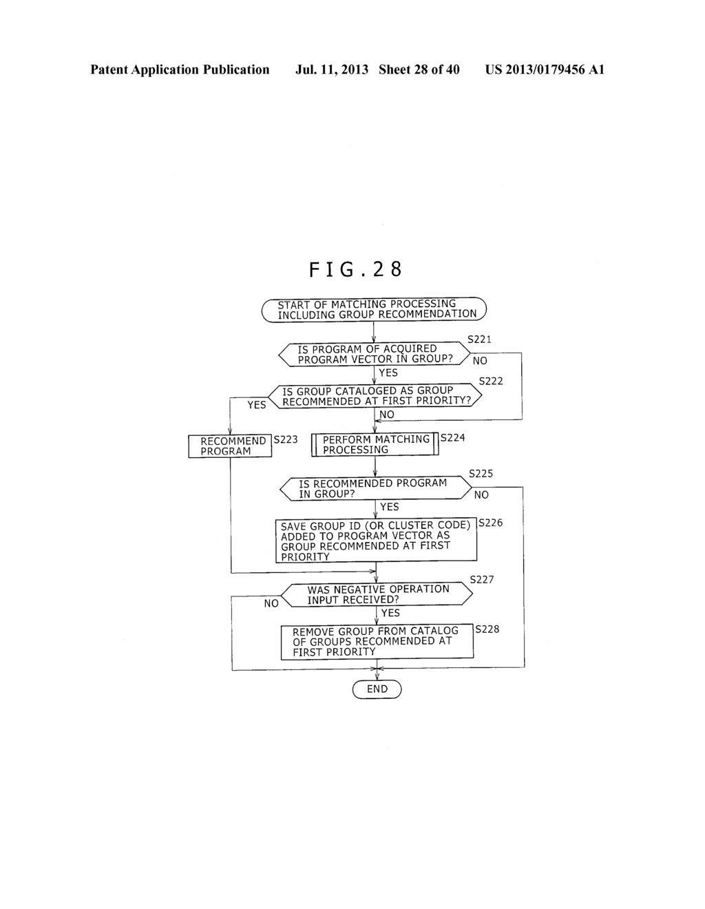 INFORMATION-PROCESSING APPARATUS, METHOD, SYSTEM, COMPUTER- READABLE     MEDIUM AND METHOD FOR AUTOMATICALLY RECORDING OR RECOMMENDING CONTENT - diagram, schematic, and image 29