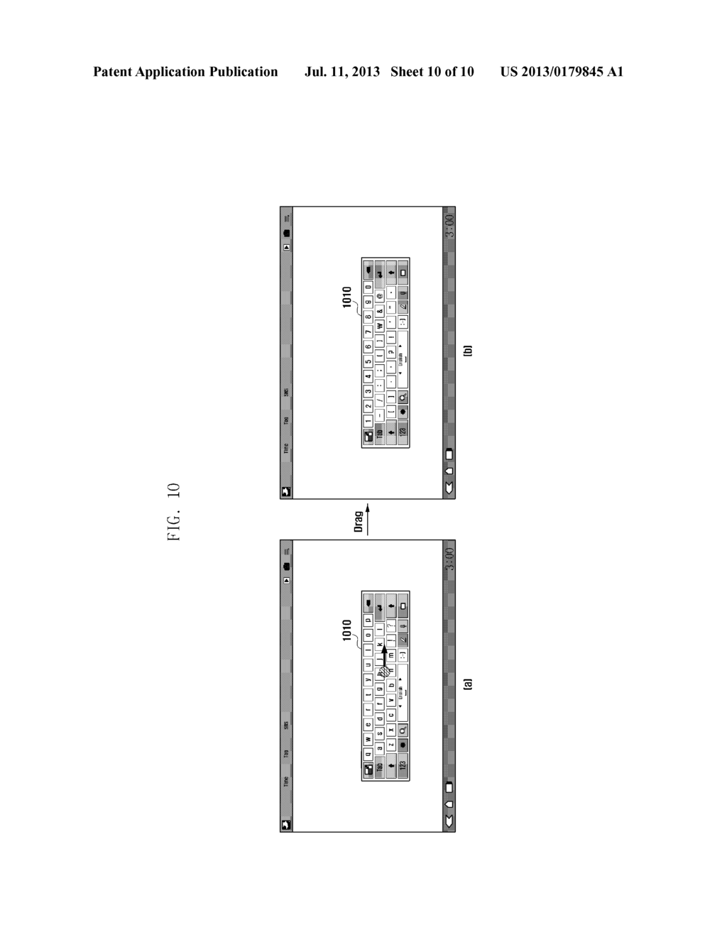 METHOD AND APPARATUS FOR DISPLAYING KEYPAD IN TERMINAL HAVING TOUCH SCREEN - diagram, schematic, and image 11