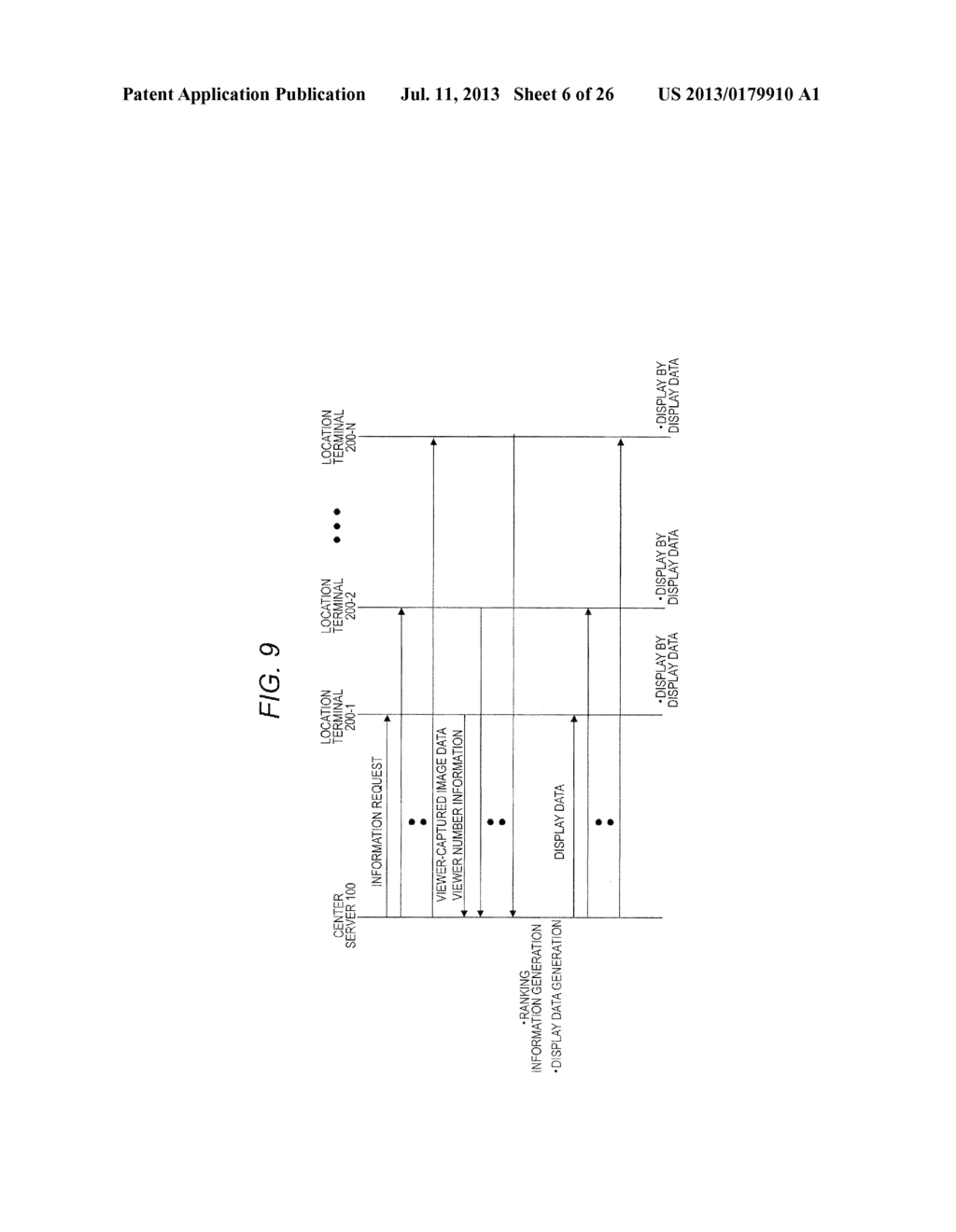 TERMINAL DEVICE, CONTENT DISPLAY METHOD FOR TERMINAL DEVICE, SERVER     DEVICE, DISPLAY DATA TRANSMISSION METHOD FOR SERVER DEVICE, AND RANKING     INFORMATION TRANSMISSION METHOD FOR SERVER DEVICE - diagram, schematic, and image 07