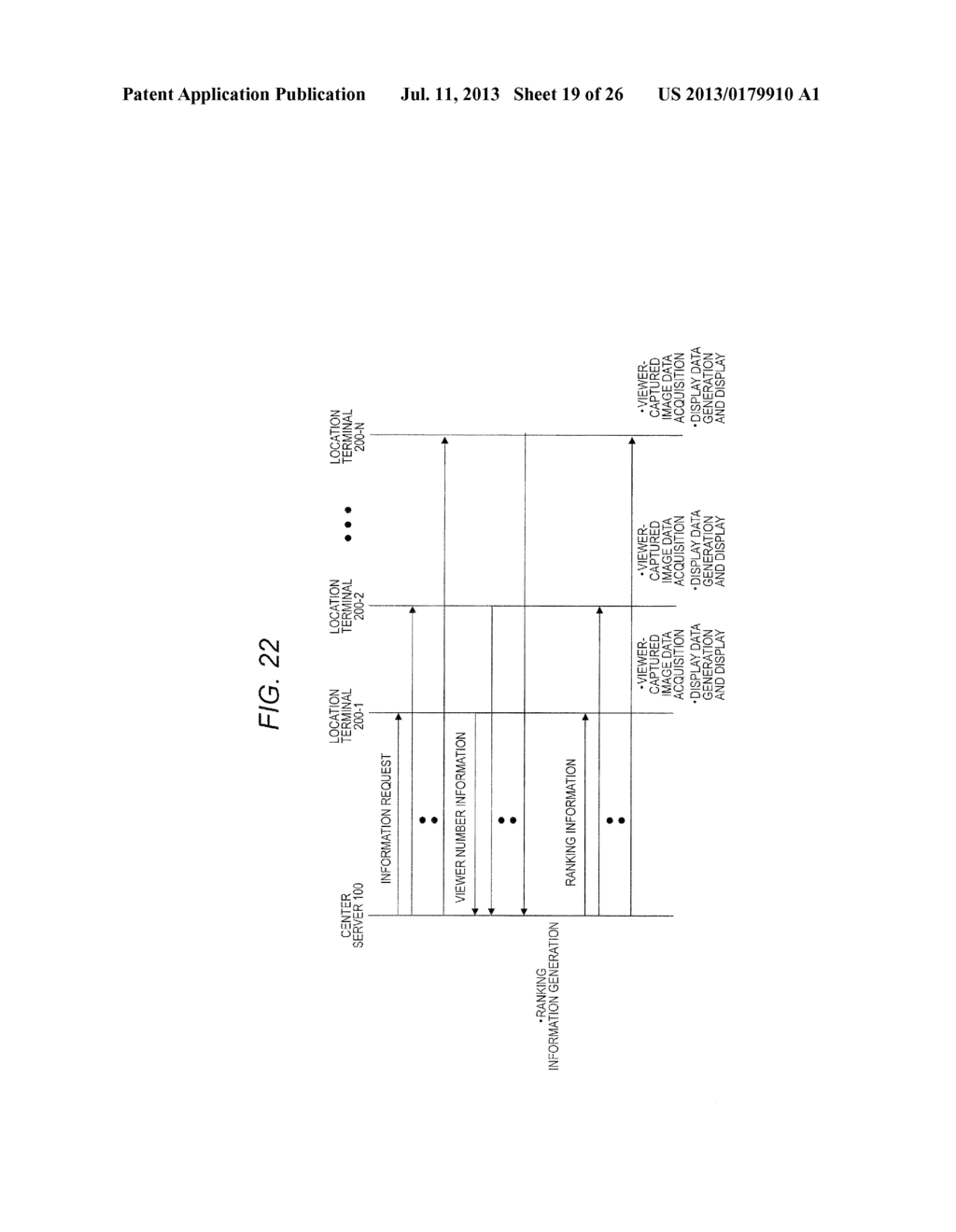 TERMINAL DEVICE, CONTENT DISPLAY METHOD FOR TERMINAL DEVICE, SERVER     DEVICE, DISPLAY DATA TRANSMISSION METHOD FOR SERVER DEVICE, AND RANKING     INFORMATION TRANSMISSION METHOD FOR SERVER DEVICE - diagram, schematic, and image 20
