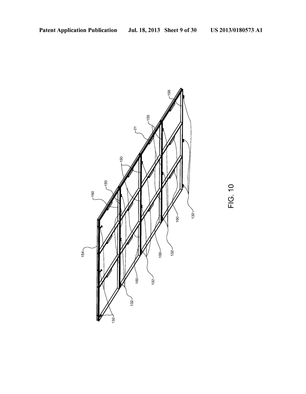Method and Apparatus for Forming and Mounting a Photovoltaic Array - diagram, schematic, and image 10