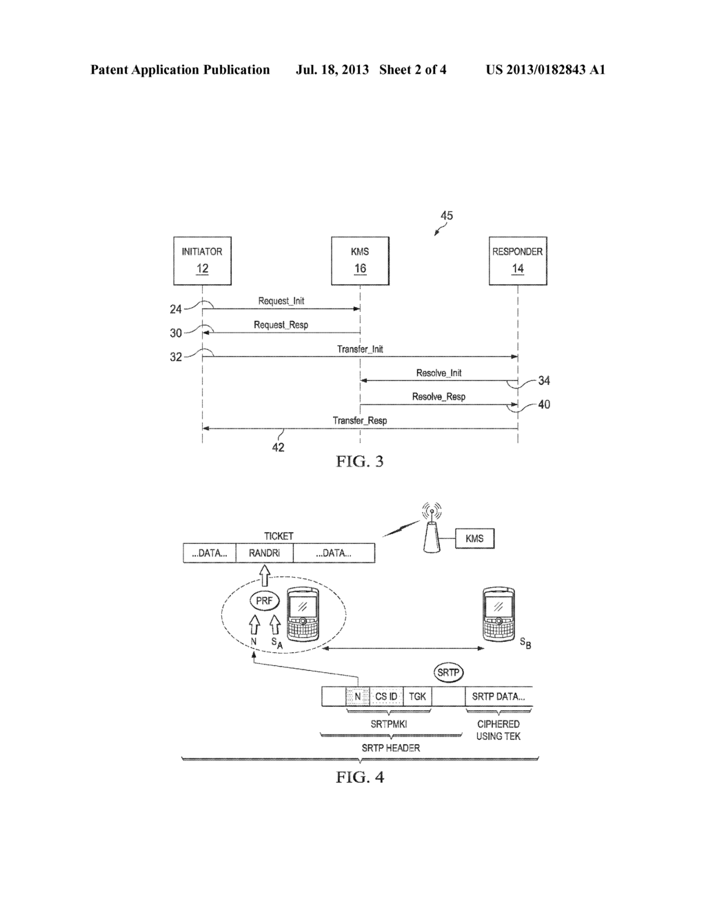 System and Method of Lawful Access to Secure Communications - diagram, schematic, and image 03