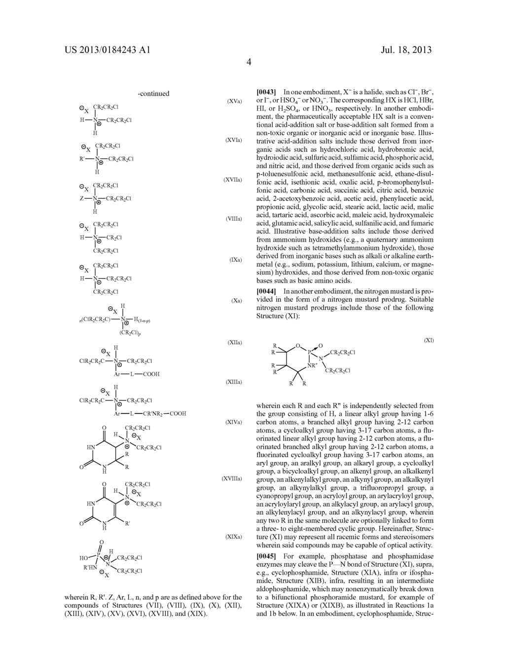 COMPOSITIONS OF ALKYLATING AGENTS AND METHODS OF TREATING SKIN DISORDERS     THEREWITH - diagram, schematic, and image 05
