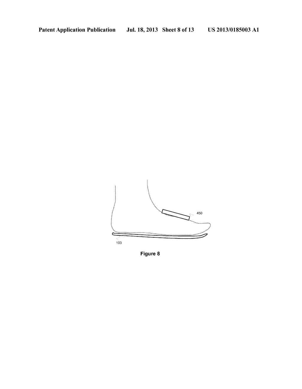 DETECTION OF A FORCE ON A FOOT OR FOOTWEAR - diagram, schematic, and image 09